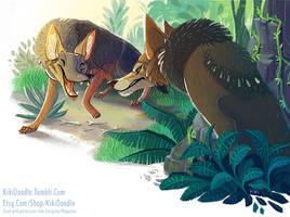 Jungle Book - The Jackal by kiki-doodle
