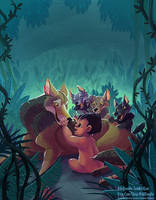 Jungle Book - family by kiki-doodle