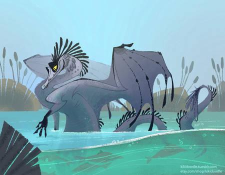 Great Blue Dragon