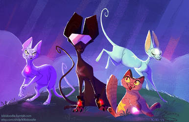Steven Universe: The Crystal Cats