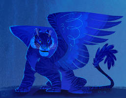 Pthalo Blue by kiki-doodle