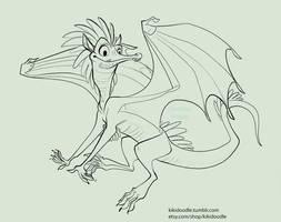 Fairy Dragon by kiki-doodle
