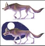 New Wolf Sticker