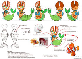Purrmaid Concept Art by kiki-doodle