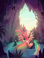 Azure Daydream by kiki-doodle
