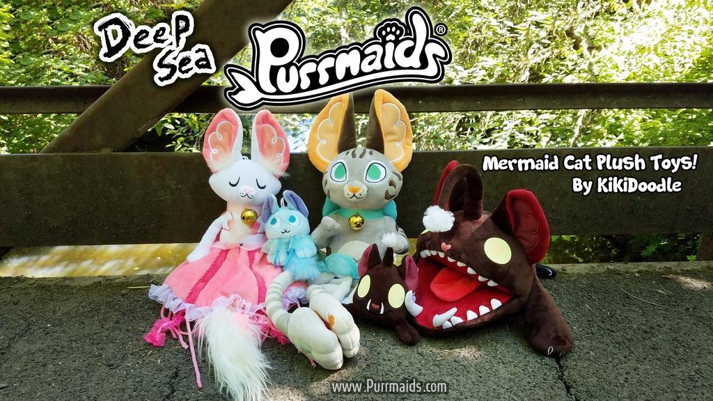 Deep Sea Purrmaids Kickstarter now live! by kiki-doodle