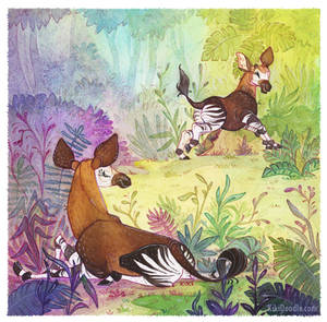 Okapi Family