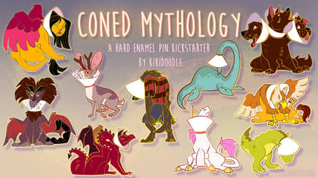 Coned Mythology Pin Kickstarter final