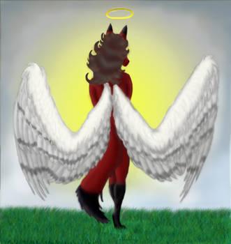 Angelic Vixen - redone by sabbathsilverclaw