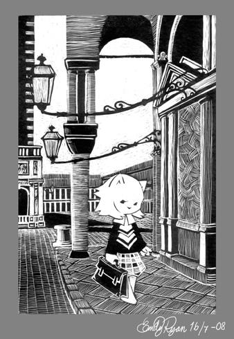 A cat in Venice