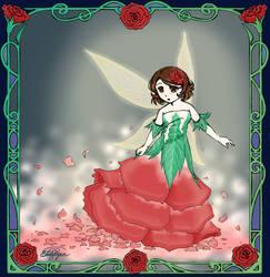 A flower dress by Aeonna