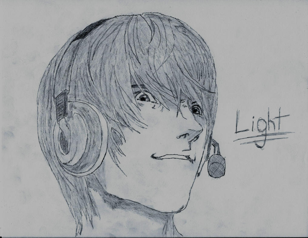 Light Yagami by Blaeckdeath