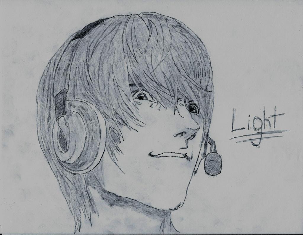 Light Yagami by Blaeckdeath