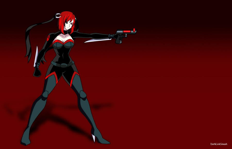 BloodRayne Con Arma by darklinksmash