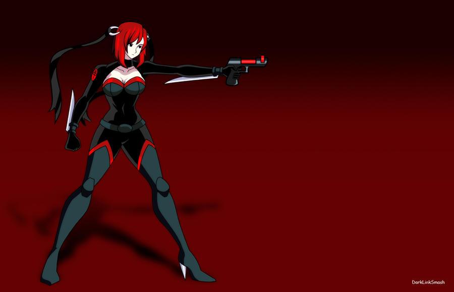 BloodRayne Con Arma by darklinksmash
