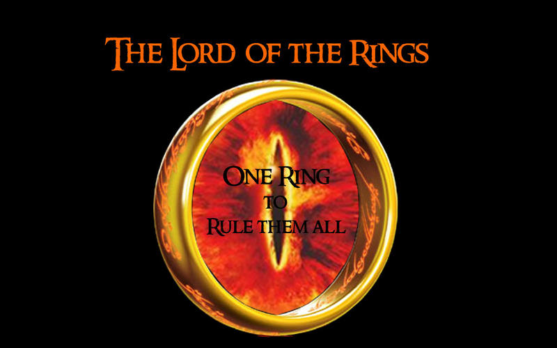 One Ring Wallpaper By Jediprincess On Deviantart