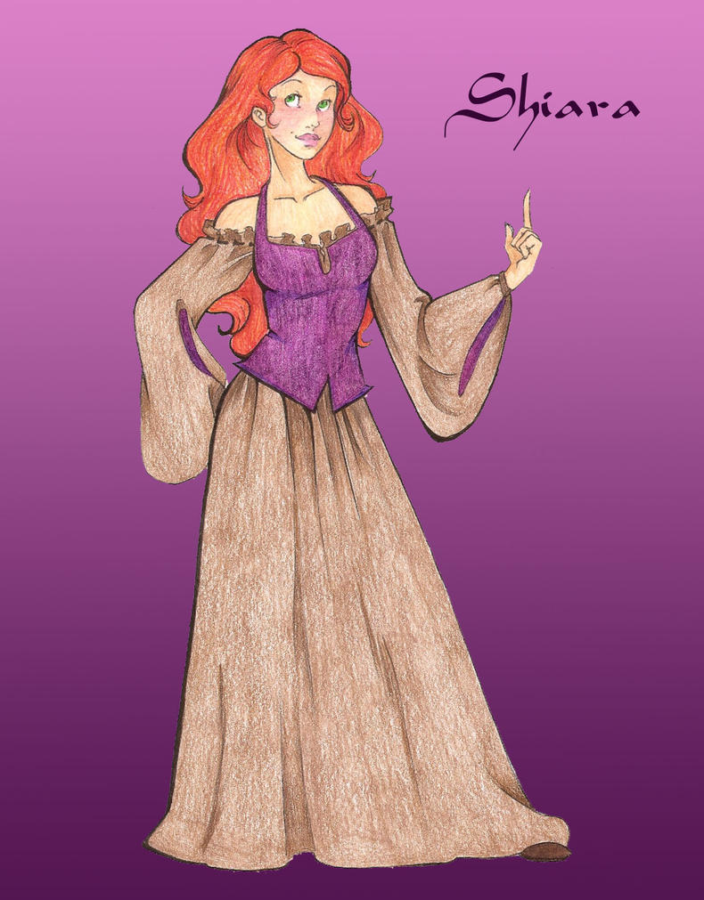 Shiara the Firewitch by jediprincess on DeviantArt