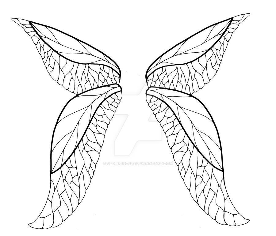 faerie wings tattoo design by jediprincess on deviantart
