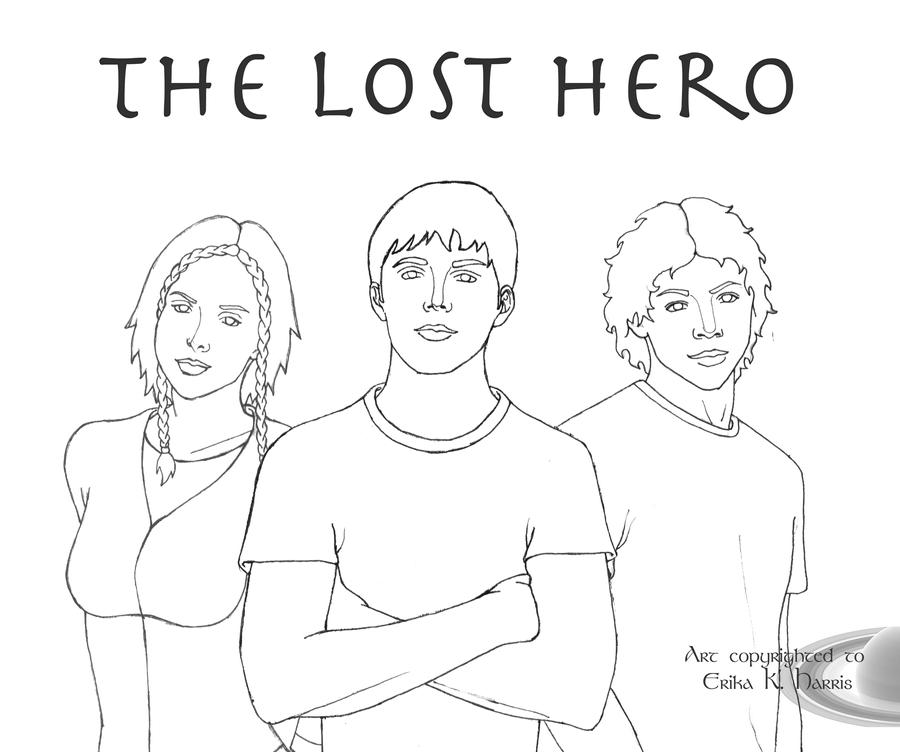 lost heroes coloring pages - photo#10