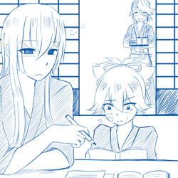 Touken Ranbu : samonji Family by SerinaChan