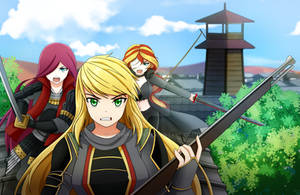 CM Half body :  resistant the shogun by SerinaChan