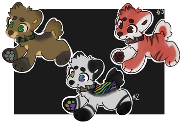 Pup batch 1 open adopts