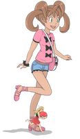 [Pokemon X and Y] Shaunazilla by Display-This-Anyway