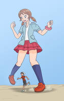 [Pokemon OmegaRuby and AlphaSapphire] At Lass by Display-This-Anyway