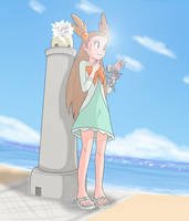 [Pokemon HeartGold and SoulSilver] Lighthouse by Display-This-Anyway