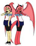 Amber Gene *human and Gargoyle Form*