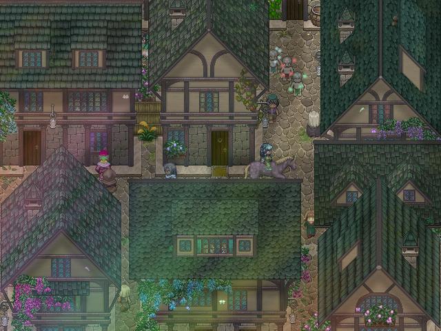 RPG Maker - Medieval town