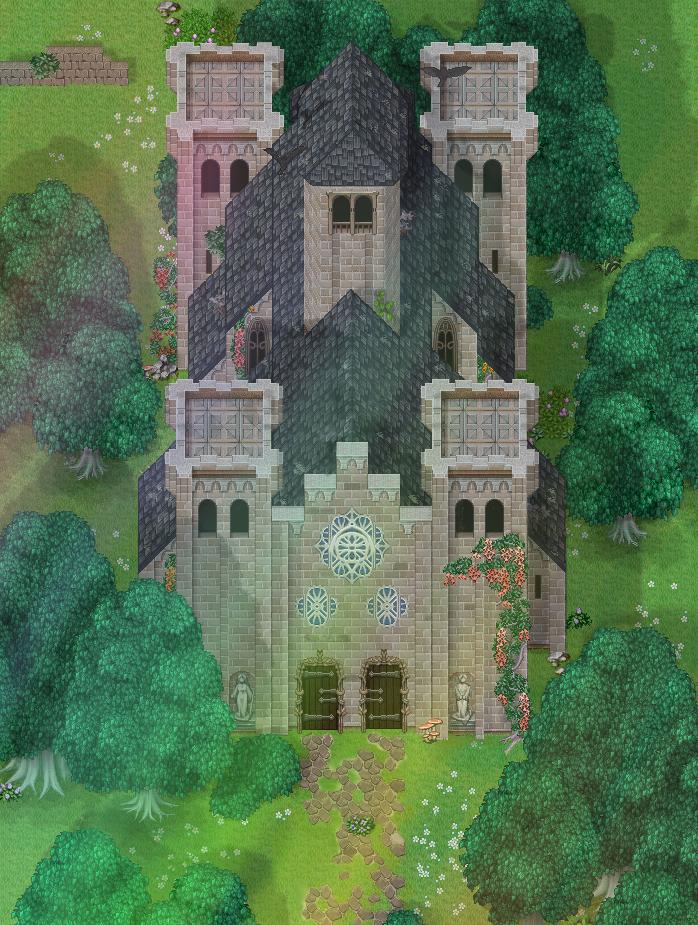 RPG Maker - Roman abbey