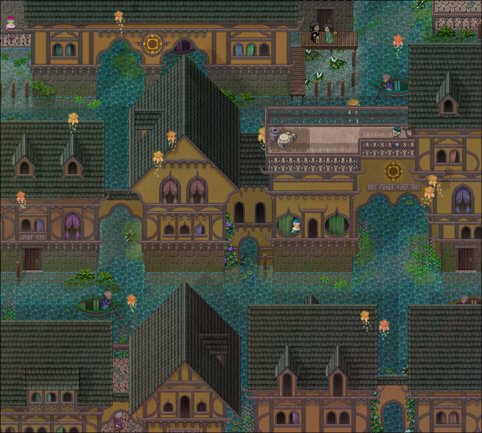 RPG Maker - Venice of elsewhere...