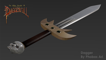 Daggerfall's Dagger by PhobosA