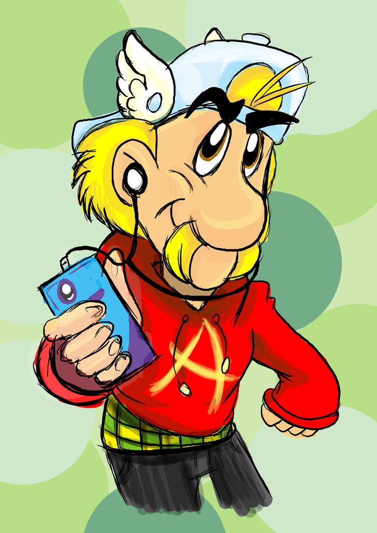 Modern Asterix by Amely14128