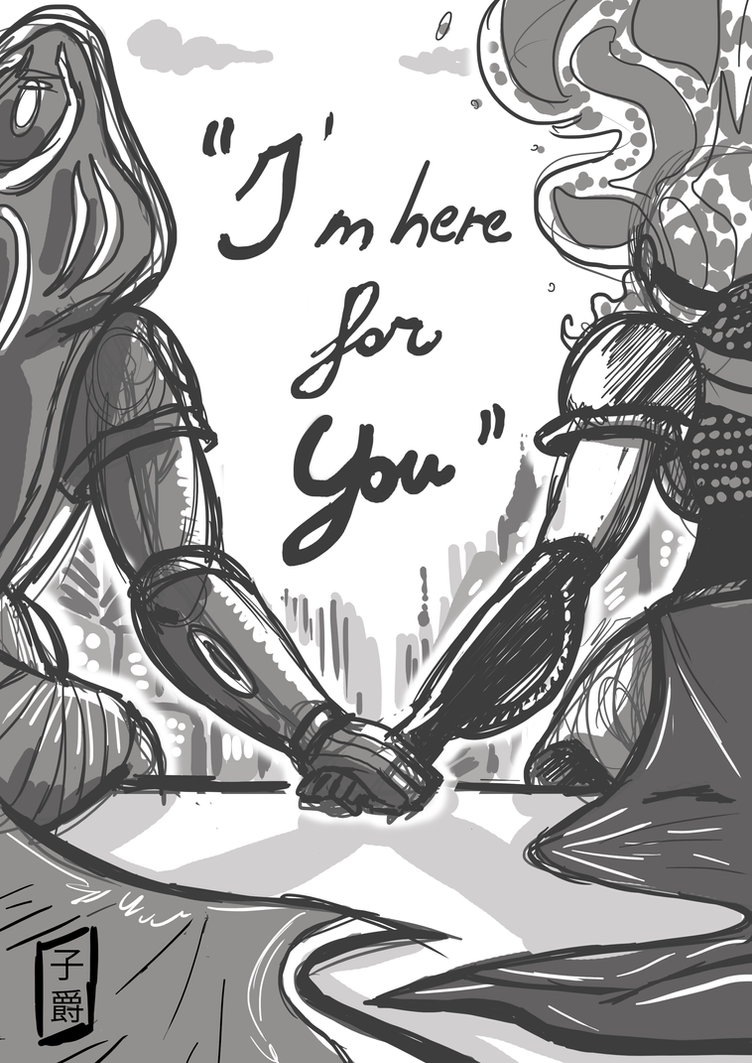 Jacechandra I'm Here For You by Amely14128