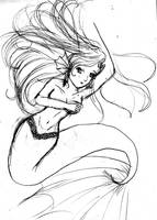 ningyo-mermaid-sirena by nelli-sama