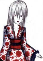kimono girl by nelli-sama