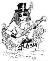Slash - Guns n' Roses by nelli-sama