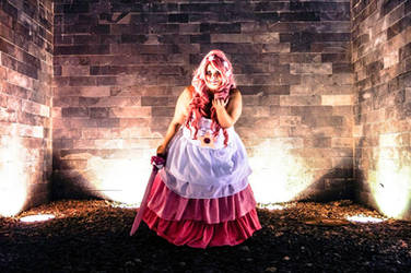 Rose Quartz Cosplay by nelli-sama