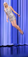 Gwen Stefani Flying