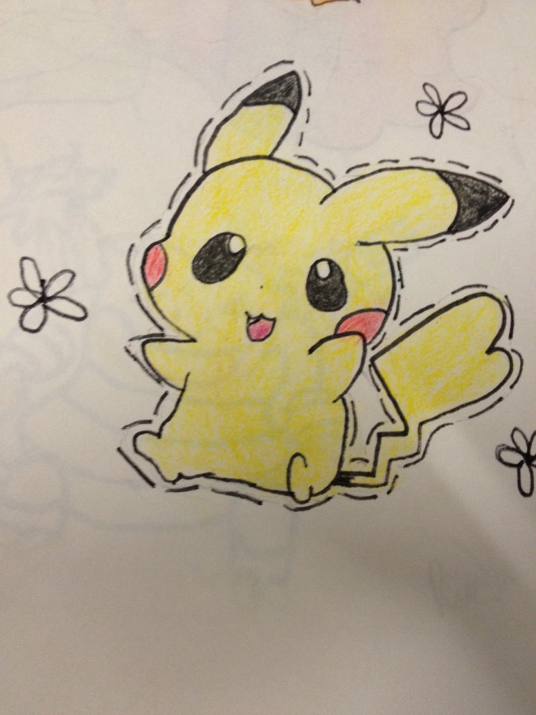 Chibi Pikachu by Zel-Duh on DeviantArt
