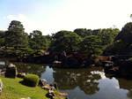 Nijo-jo's gardens