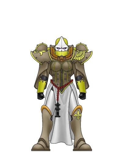 Yang as an Adepta Sororitas by Regulus-Gades