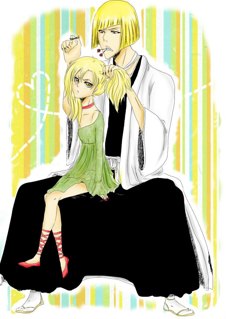 Shinji and Hiyori by teodoralovesteo