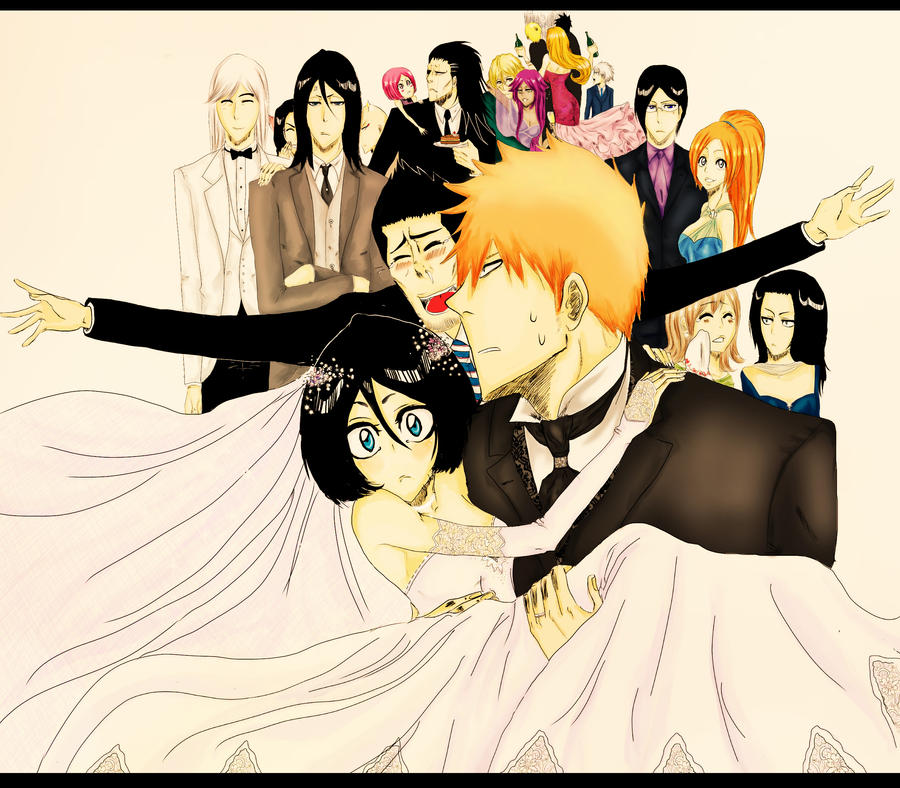 -Ichiruki wedding by teodoralovesteo