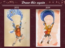 Draw This Again - Echarpe