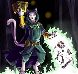 Necromancer Cat