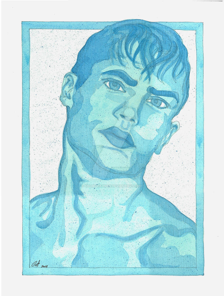 Turquoise Portrait by CourtWatson
