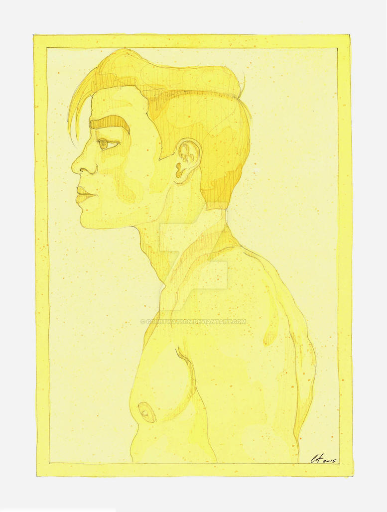 Yellow Profile. by CourtWatson